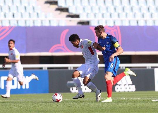 Trực tiếp U20 VN - Pháp 0-3: Đẳng cấp vượt trội - Ảnh 3.