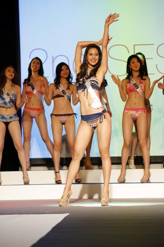 Cận cảnh nhan sắc Tân Hoa hậu Hoàn vũ Nhật Bản - Ảnh 7.
