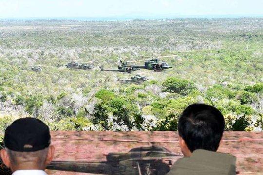 Indonesia liên tiếp tập trận khủng gần biển Đông - Ảnh 2.