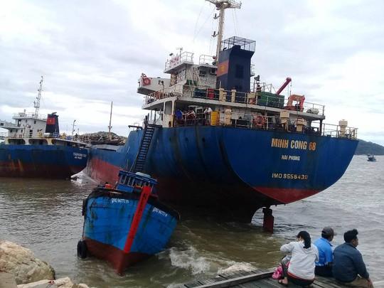 Bão số 2: Tan hoang ở cảng Hòn La sau bão đi qua - Ảnh 1.