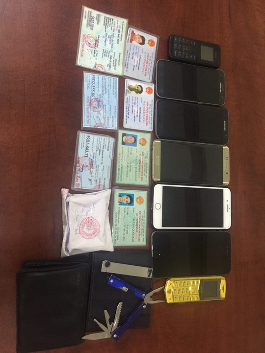 Bắt băng cướp giật nguy hiểm tại TP HCM - Ảnh 7.
