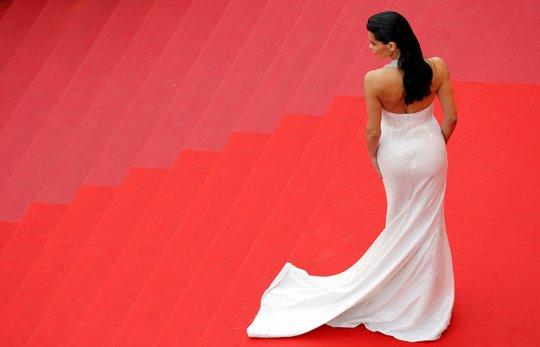 Người mẫu bạch biến tự tin khoe dáng tại Cannes 70 - Ảnh 9.