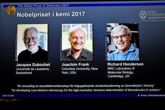 Giải Nobel Hóa học 2017 gây bất ngờ lớn - Ảnh 2.