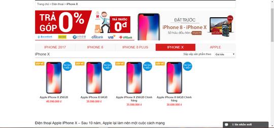 iPhone X về Việt Nam: 50-100 triệu đồng/ chiếc? - Ảnh 1.