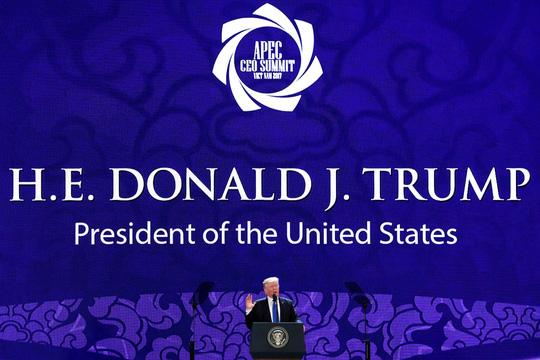 Tổng thống Mỹ ở APEC 2017: Chúng ta không còn là kẻ thù! - Ảnh 1.