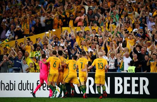 Úc giúp châu Á có 5 đội dự VCK World Cup 2018 - ảnh 1