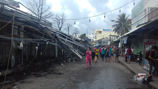 Thông tin mới nhất vụ cháy chợ đêm Phú Quốc - Ảnh 3.