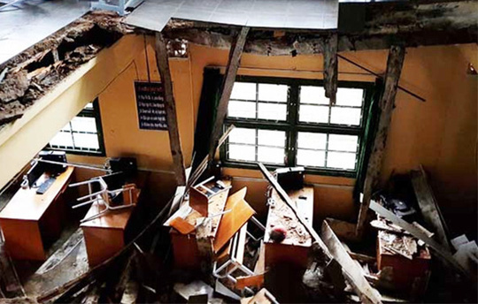 NÓI THẲNG: Công trình ngàn tỉ và cái sàn phòng học đổ sập - Ảnh 1.
