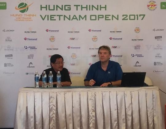 Lý Hoàng Nam chạm trán hạt giống số 5 tại Vietnam Open - Ảnh 1.