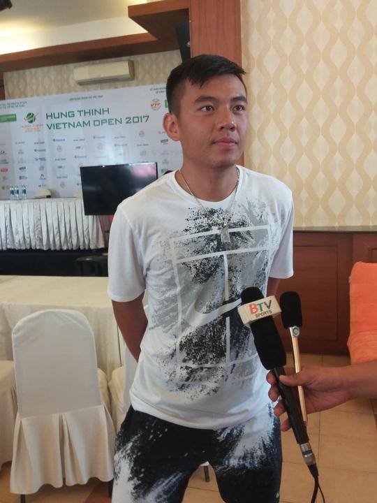 Lý Hoàng Nam chạm trán hạt giống số 5 tại Vietnam Open - Ảnh 3.