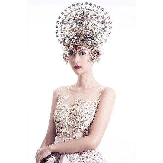 Cận cảnh nhan sắc tân Hoa hậu Quốc tế - Ảnh 7.