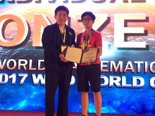 Đoàn Việt Nam thắng lớn tại kỳ thi toán quốc tế WMO - ảnh 3