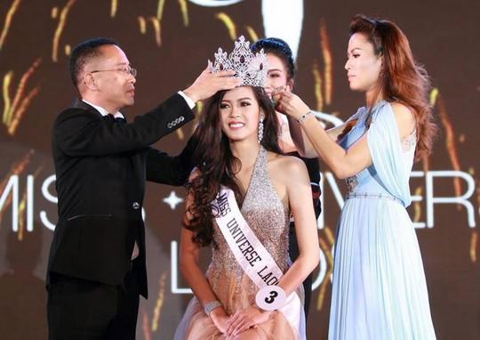 Cận cảnh nhan sắc Hoa hậu Hoàn vũ đầu tiên của Lào - Ảnh 2.