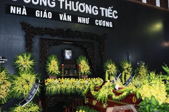 Nghẹn ngào xúc động lễ tang Thầy Văn Như Cương - Ảnh 5.