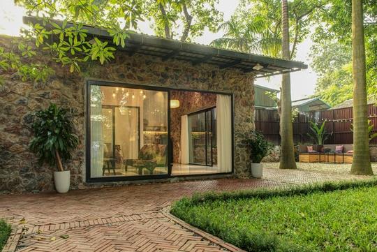 Nhà vườn đầy cây xanh mát ở Hà Nội - Ảnh 4.