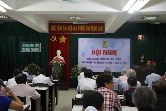 LĐLĐ Thừa Thiên – Huế phát động cuộc thi ảnh về công nhân - Ảnh 2.