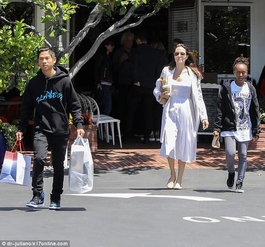 Pax Thiên tháo vát hộ tống Angelina Jolie - ảnh 2