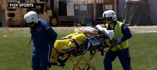 Khinh khí cầu rơi ở US Open, một người phỏng nặng - Ảnh 3.