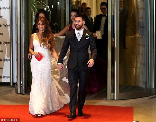 Sao bóng đá tề tựu dự đám cưới Messi - Ảnh 5.
