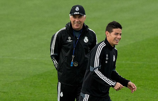 James Rodriguez rời Real Madrid - Ảnh 2.