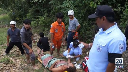Diễn viên suýt chết vì ngã thác, kẹt trong rừng 3 ngày - Ảnh 1.