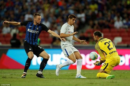 Morata tịt ngòi, Chelsea thua trận thứ 2 tại Singapore - Ảnh 1.