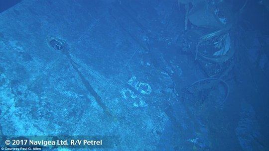 Mỹ tìm thấy mảnh vỡ chiến hạm bị đánh chìm trong Thế chiến II - Ảnh 3.