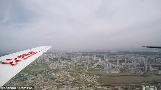 Video hiếm hoi quay Bình Nhưỡng từ trên cao - Ảnh 2.
