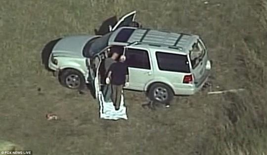 Chiếc xe của nghi phạm. Ảnh: Fox News