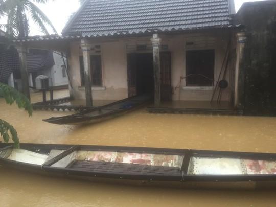 Thừa Thiên – Huế: Nguy cơ nước sông lên báo động 3 trở lại - Ảnh 2.
