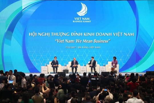APEC 2017: Thủ tướng trao đổi với lãnh đạo doanh nghiệp - Ảnh 1.