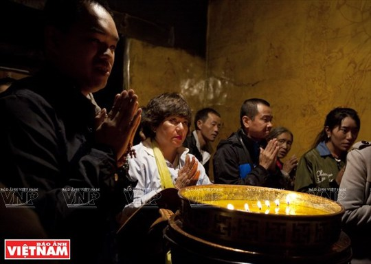 Hành trình chiêm bái ngọn núi thiêng Kailash ở Tây Tạng - Ảnh 7.