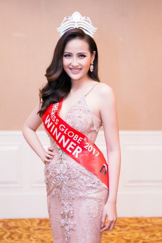 Hoa hậu Hoàn cầu Đỗ Trần Khánh Ngân: Không bằng chứng có sắc đẹp là không trí tuệ - Ảnh 2.
