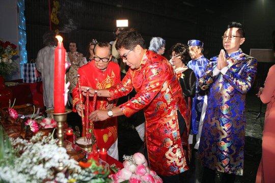 Mừng đại thọ nghệ sĩ Văn Chung trong ngày giỗ Tổ - Ảnh 5.