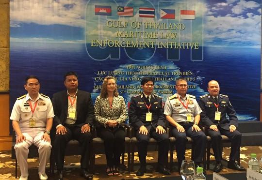 Cảnh sát biển 3 nước bàn về xử lý thách thức an ninh biển - Ảnh 1.