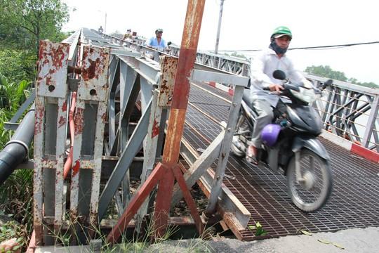 4 cây cầu sắt ở Nhà Bè lại kêu cứu - Ảnh 1.