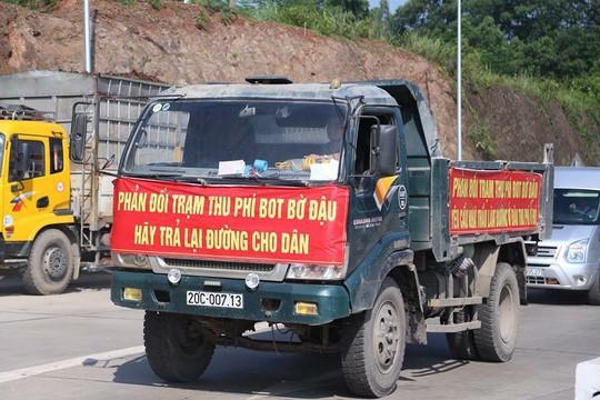 Thái Nguyên kiến nghị dỡ bỏ trạm BOT Bờ Đậu - Ảnh 1.