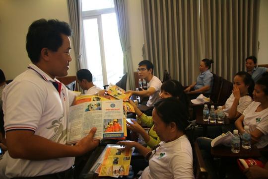 Ngày hội tư vấn pháp luật cho người lao động Khánh Hòa - Ảnh 1.