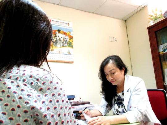 Tư vấn cho thai phụ tại Bệnh viện Phụ sản Quốc tế Sài Gòn