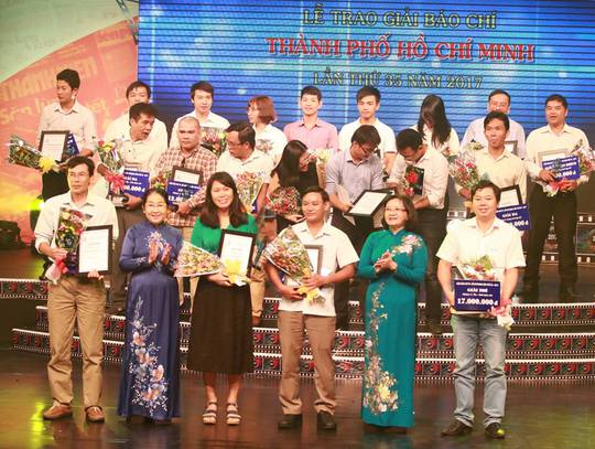 Báo Người Lao Động đoạt 6 giải Báo chí TP HCM - Ảnh 1.