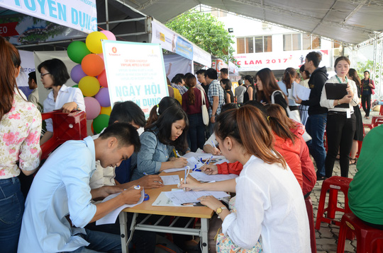 Hơn 3.000 việc làm dành cho sinh viên miền Trung - Ảnh 5.