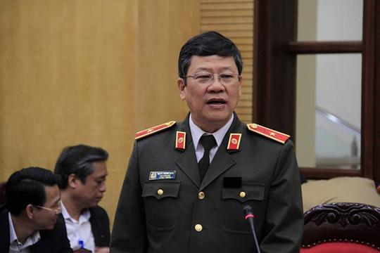 Thiếu tướng Bạch Thành Định, Phó Giám đốc Công an TP Hà Nội Ảnh: Nguyễn Hưởng