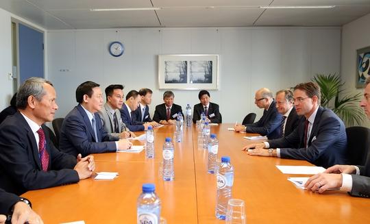 Việt Nam và EU nỗ lực sớm phê chuẩn EVFTA - Ảnh 1.
