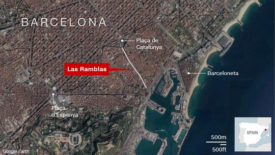 Lao xe, bắt con tin ở Barcelona, 13 người chết - Ảnh 3.