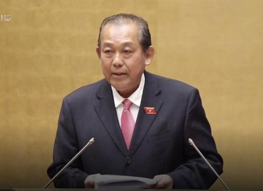 Phó Thủ tướng Thường trực Trương Hòa Bình trả lời chất vấn - Ảnh 1.