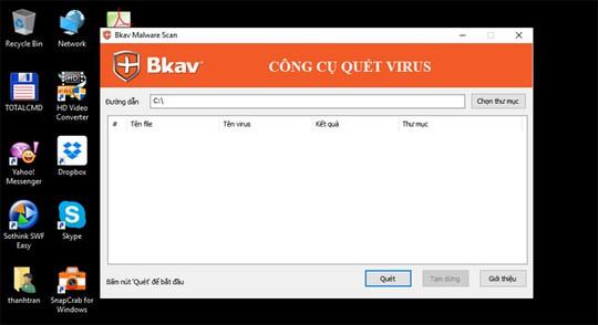 Công cụ miễn phí kiểm tra mã độc WannaCry - Ảnh 1.