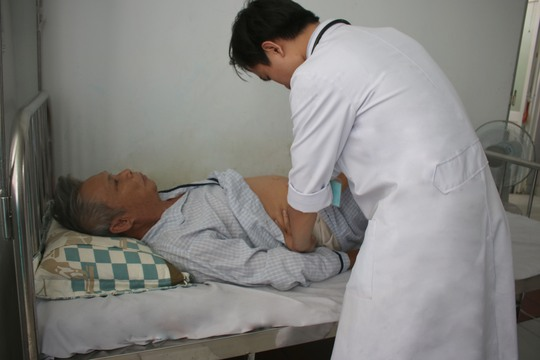 Sau khi can thiệp, sức khỏe bệnh nhân tạm ổn định.