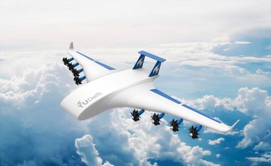 Một thiết kế máy bay chở hàng không phi công Ảnh: airspacemag.com