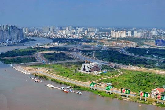 Chính sách quản lý đất đai hiện nay còn nhiều bất cập, chưa theo kịp tốc độ phát triển đô thị Ảnh: tấn Thạnh