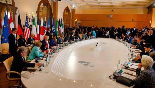 Biến đổi khí hậu phủ bóng G7 - Ảnh 1.